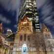 Copley Square in Boston — Stock Photo