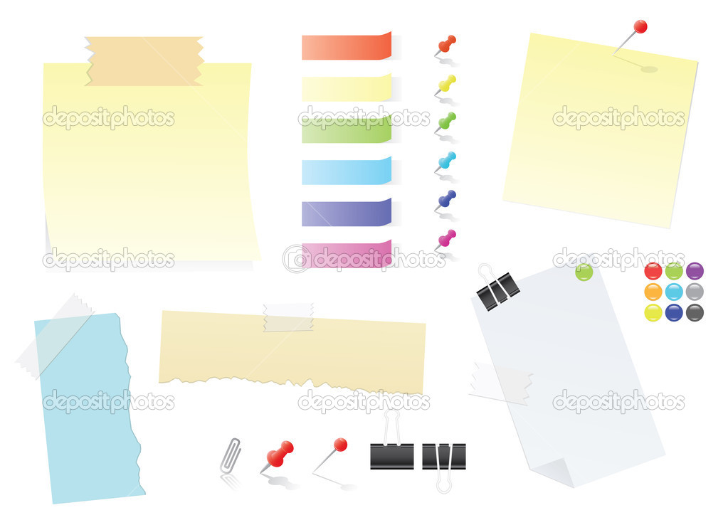 Notas de papel y papel adhesivos oficina suministro for Papel para oficina