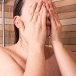 Woman in shower — Stock Photo #10679901
