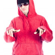 Hip Hop man pointing at you — Stock Photo