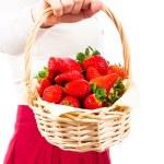 Delicious juicy fresh strawberries — Stock Photo #9382390