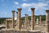 Roman ruins, century II b.c. Spain — Stock Photo