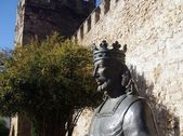 Statue of Alfonso X the Wise — Stock Photo