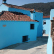 Royalty-Free Stock Photo: Juzcar,  blue Andalusian village