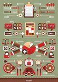 Business interesting infographics — Stock Vector