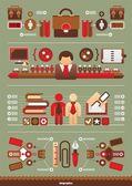 Business Vector infographics — Stock Vector
