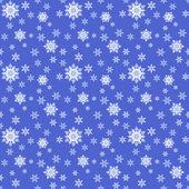 Kesintisiz mavi Noel süs vektör — Stok Vektör