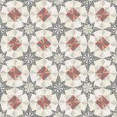Vector seamless pastel geometric pattern — Stock Vector