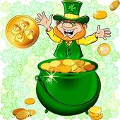 Vector St. Patrick — Stock Vector