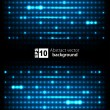 Dark abstract background with glowing lights. Vector — Stock Vector