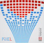 Pixel art. Vector background — Stock Vector