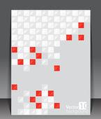 Pixel art. Vector blank. — Stock Vector