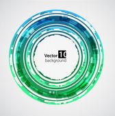 Abstract green background. Vector — Stock Vector