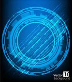 Abstrato base de tecnologia. vector — Vetorial Stock