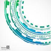 Abstract technology background. Vector — Stockvektor