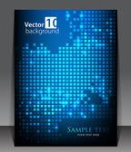Abstract pixel background. Vector — Stock Vector