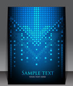 Abstrakt pixel tomt. vektor — Stockvektor