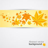 Autumn background. Vector — Stockvektor