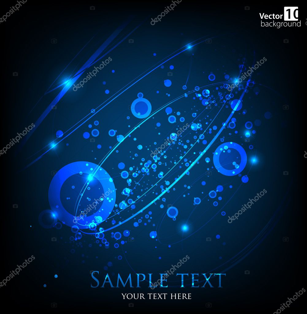 Abstract dark background. Vector. eps 10 — Stock Vector #9542316