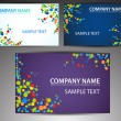 Vector business card set — Stock Vector #9839547
