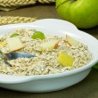 Stock Photo: A bowl of muesli with fruit