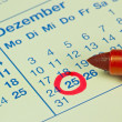 German December 25th — Stock Photo