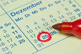 Německý 25. prosince — Stock fotografie