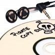 Music piracy — Stock Photo #10453360