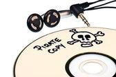 Music piracy — Stock Photo