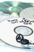 Music piracy — Stock Photo