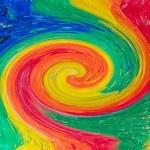 Rainbow twister — Stock Photo #9099342