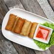 Spring rolls food — Stock Photo