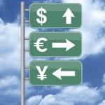 Money way — Stock Photo #10546411