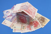 Dollars hongkong house — Stock Photo