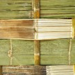 Foto Stock: Bamboo Wall
