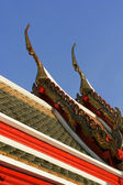 Thai temple roof — Stock Photo