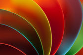 Abstract colored paper structure on orange background — Stock Photo