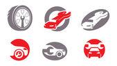 Auto repair elements. Vol. 2 — Stock Vector