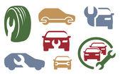 Auto repair elements. Vol. 1 — Stock Vector