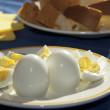 Royalty-Free Stock Photo: Hard-boiled eggs