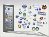 Internet tools and icons — Stockfoto