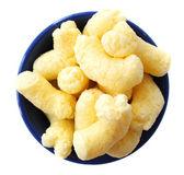 Crunchy corn snacks — Stock Photo