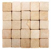 Stack of lumber — Stock Photo