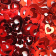 Red hearts confetti — Stock Photo #9745021