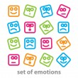 Stock Vector: Emotions