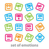 Emotions — Stock Vector