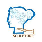 Sculpture — Stock Vector