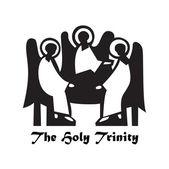The-Holy-Trinity — Stock Vector