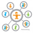 Networking - Stock Vector