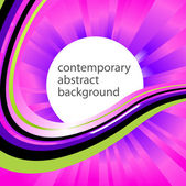 Contemporary-abstract-background — Vector de stock